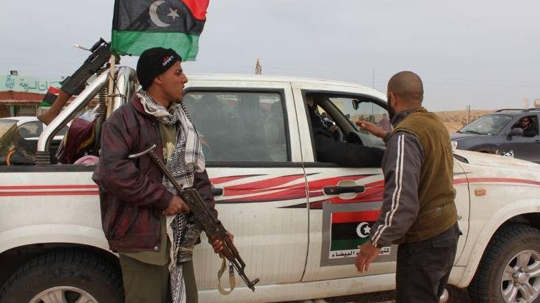 Блокпост в Ливии