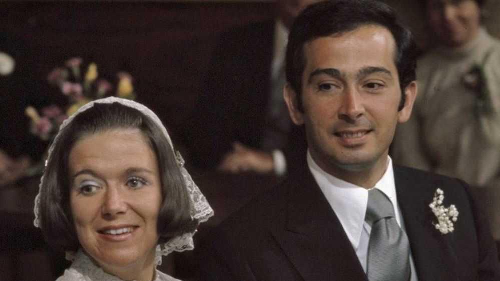 Принцесса Кристина и Хорхе Гильермо