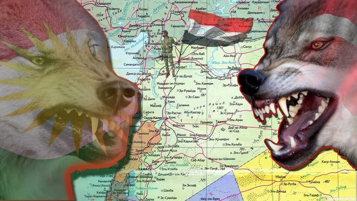 Сирия.Конфликт Турции и Курдов