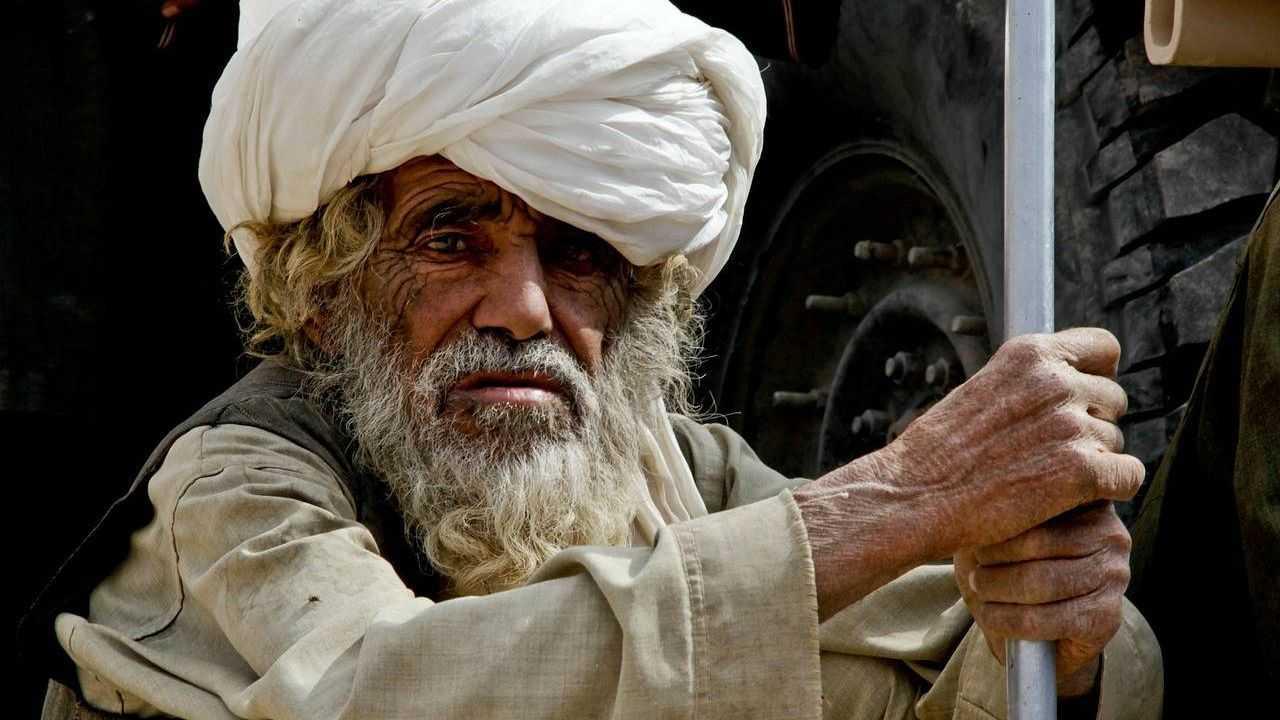 Старик-афганец