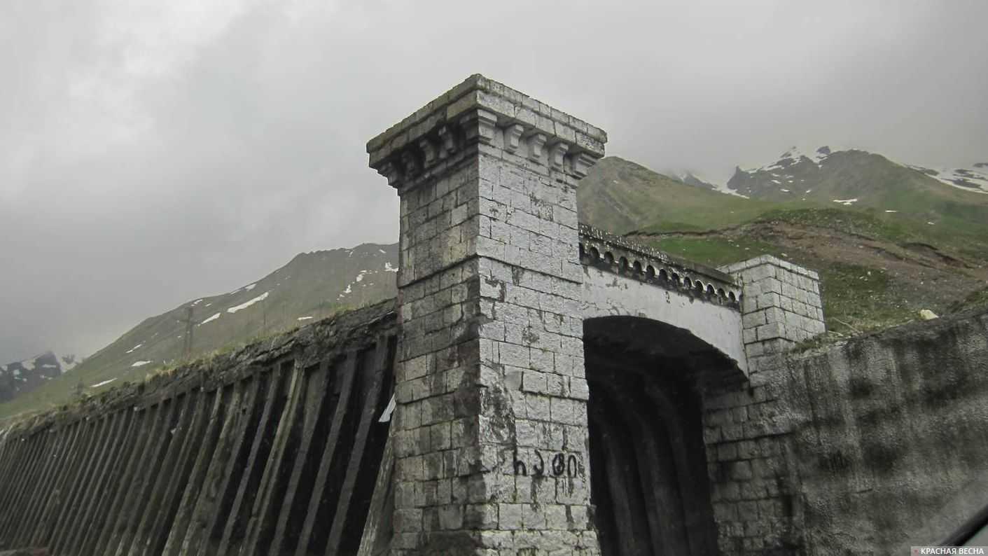 Военно-грузинская дорога. Грузия.