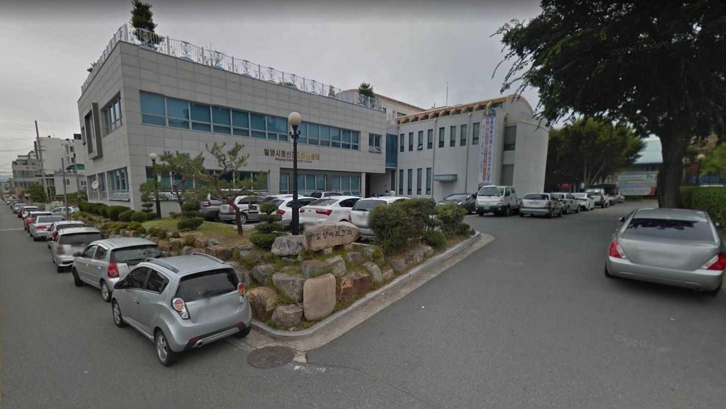 Больница в городе Мирян до пожара