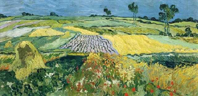 Винсент Ван Гог. Пшеничное поле. XIX век
