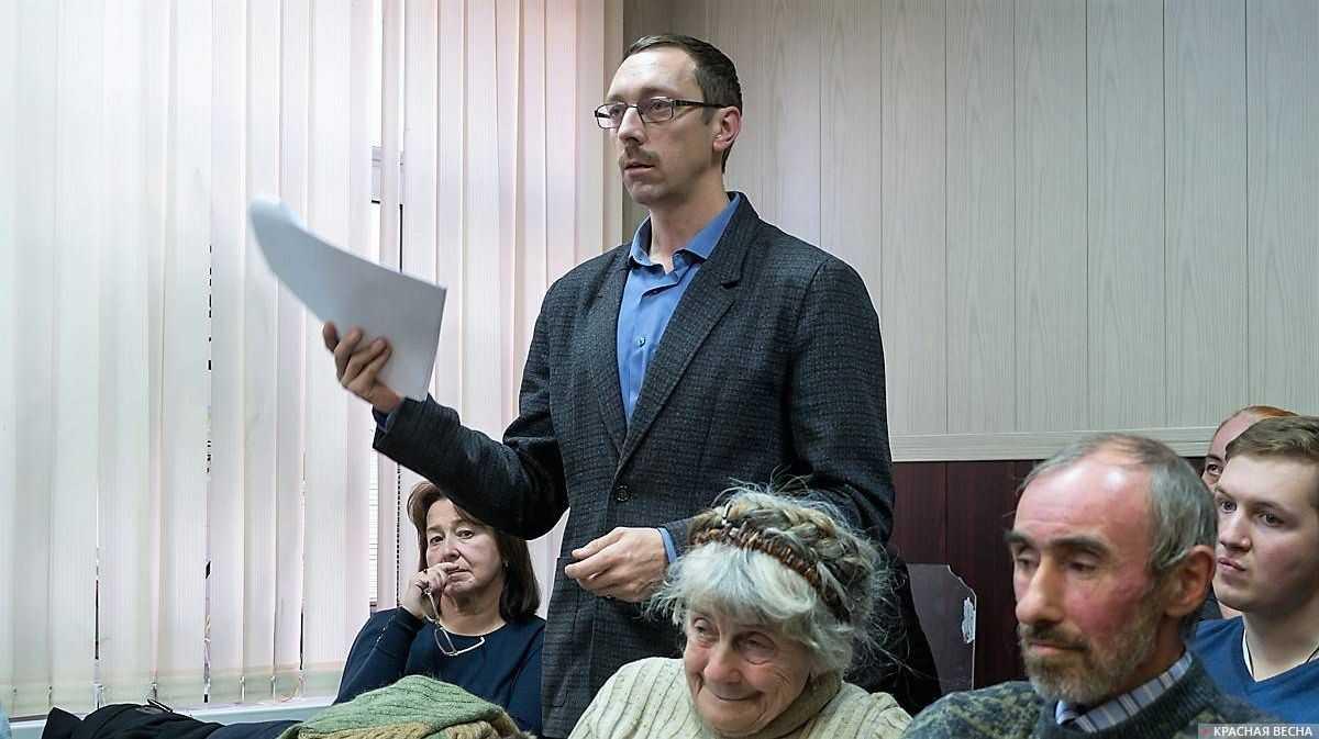 Владимир Васильев выступает в прениях