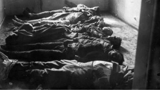 Убитые в боях с чехословацкими легионерами. Пенза 1 июня 1918 г.