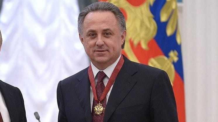 Награждение орденом «За заслуги перед Отечеством» III степени Виталия Мутко