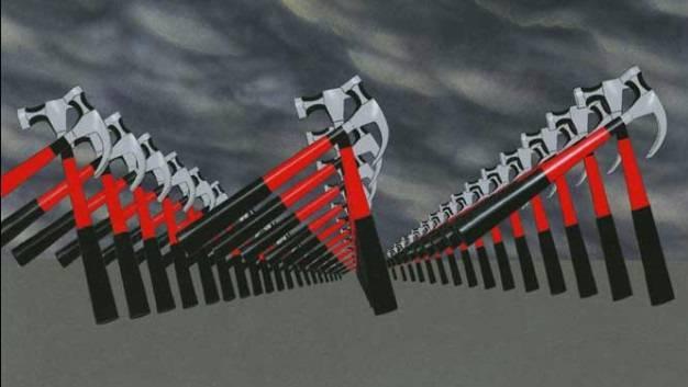 Неонацизм на марше [Цитата из х∕ф «Стена». Реж. Алан Паркер, Дональд Скарф. 1982. Великобритания]