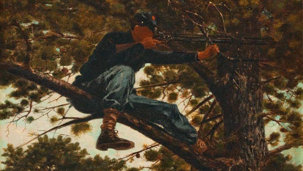Уинслоу Хомер. Снайпер. 1863