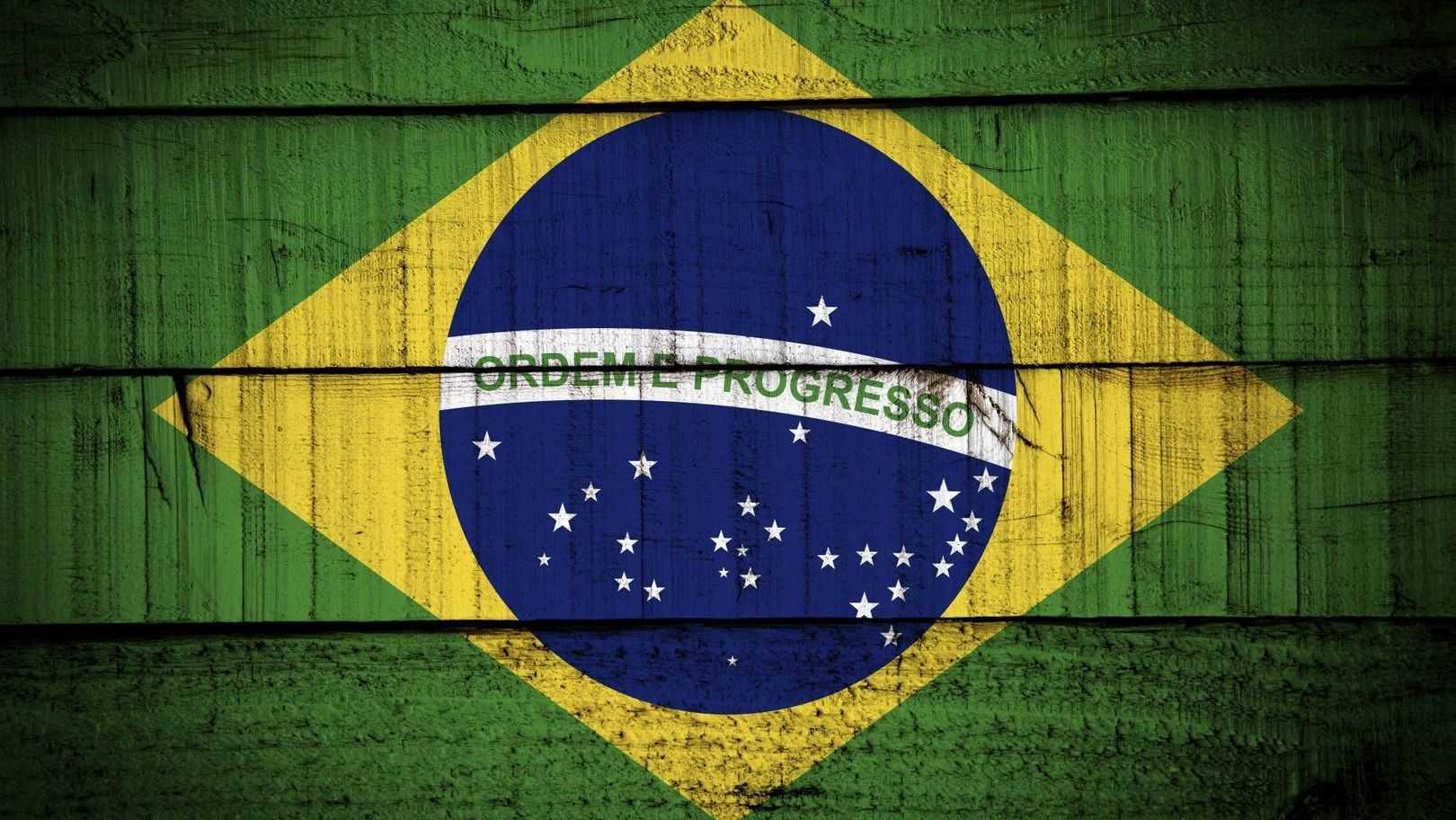 Стилизованный флаг Бразилии