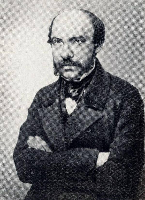 Василий Петрович Боткин. 1856
