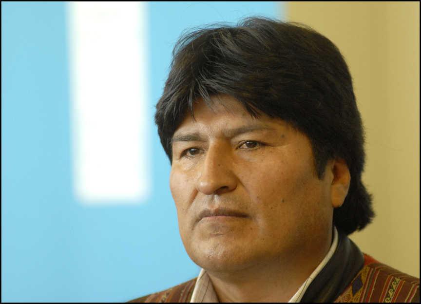 Президент Боливии Эво Моралес [(cc) Alain Bachellier]