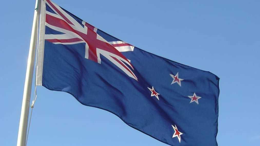 Флаг, Новой Зеландии