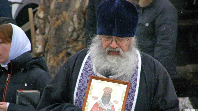 Священник. Омск.