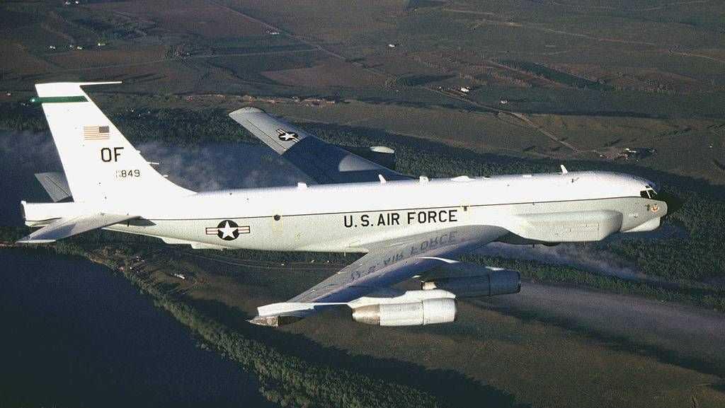 Разведывательный самолет США RC-135U
