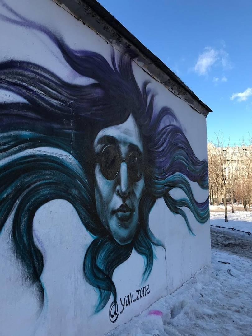Граффити, Егор Летов