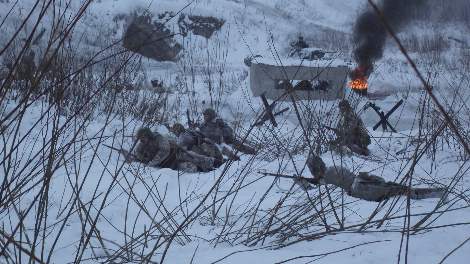 В ожидании артиллерийских ударов