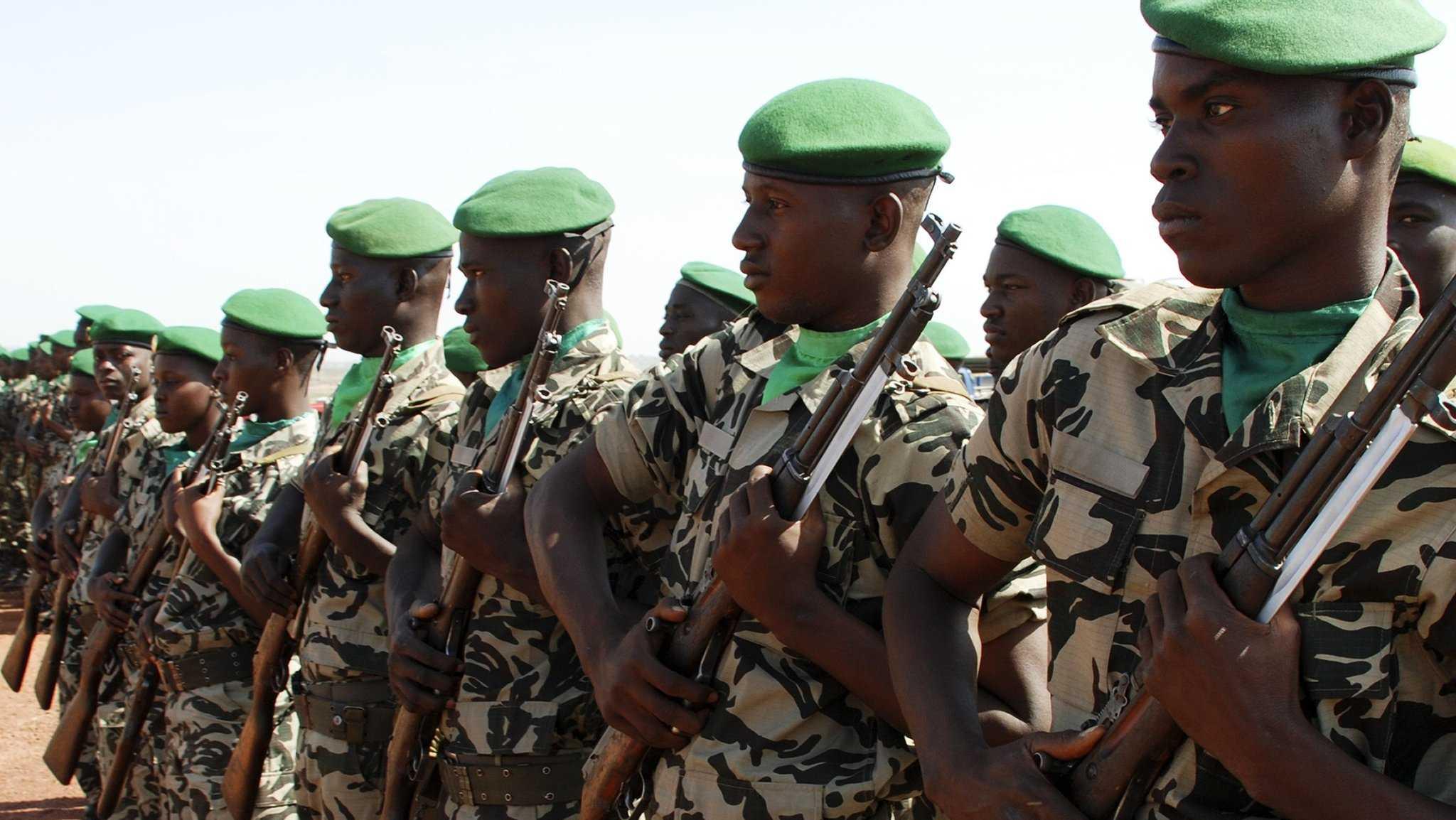 Милийские солдаты