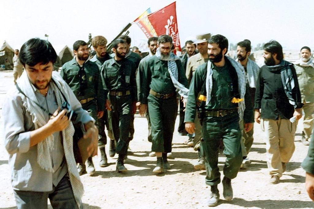 Президент Хомейни в период Ирано-Иракской войны