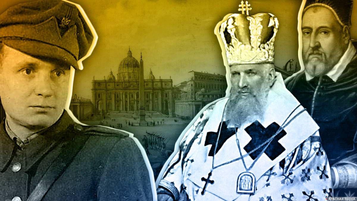 Микола Савченко, Андрей Шептицкий и папа Климент VIII