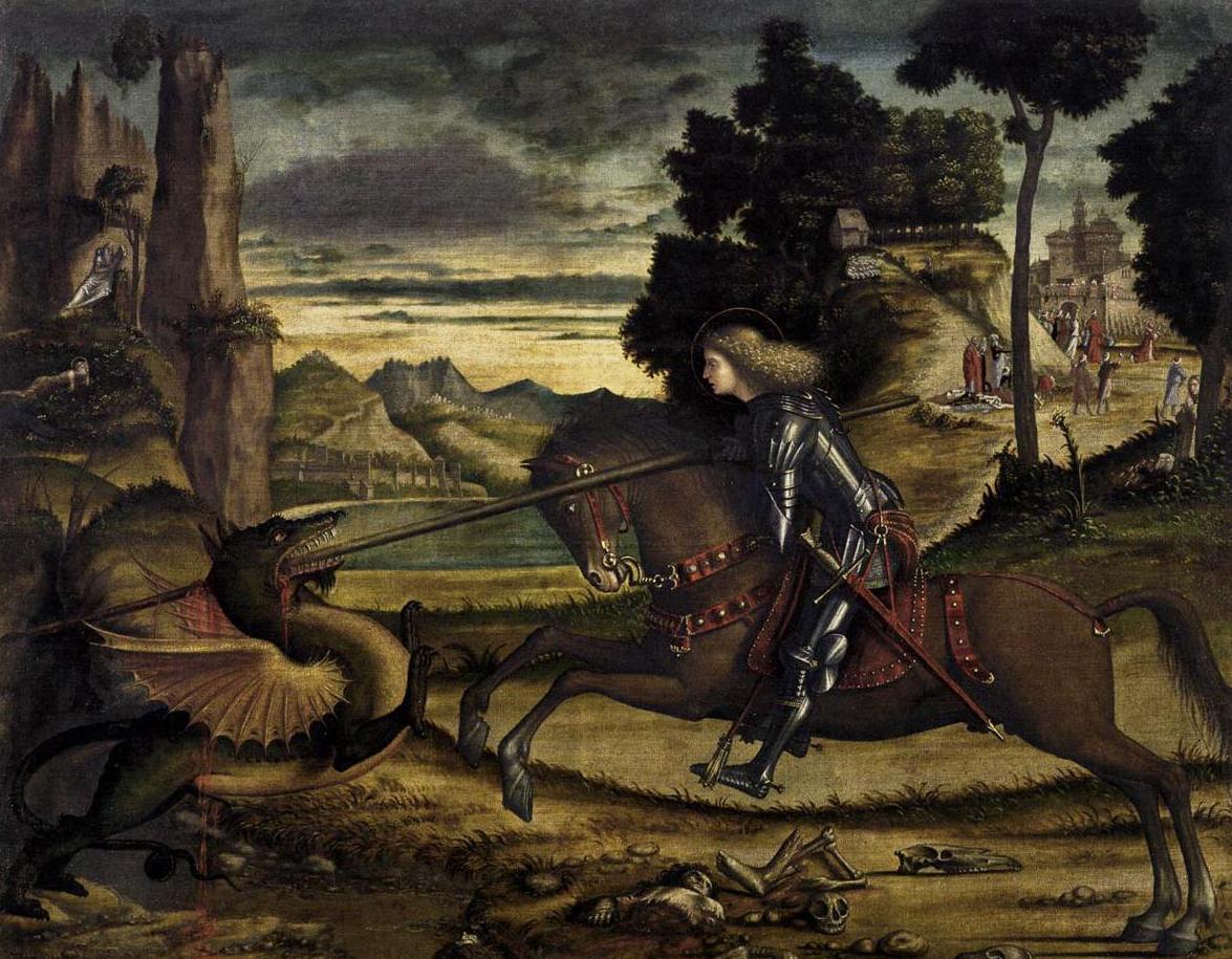 Карпаччо Витторе Святой Георгий поражающий дракона 1516 г.