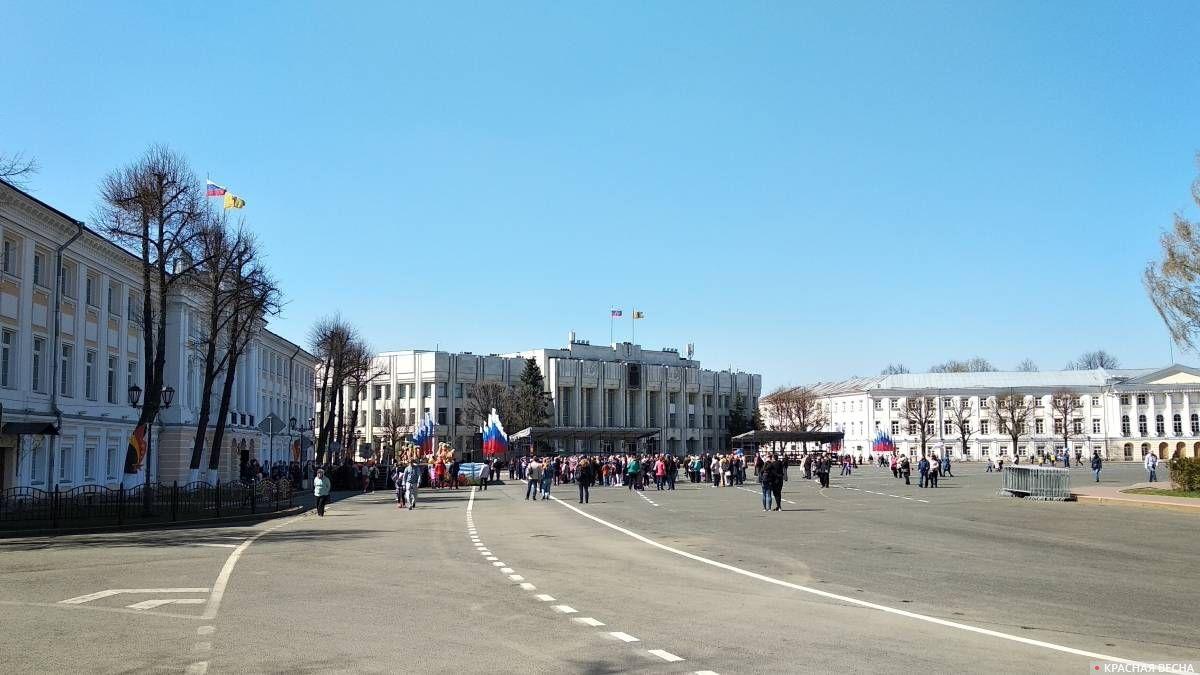 Советская площадь. 1 мая 2019
