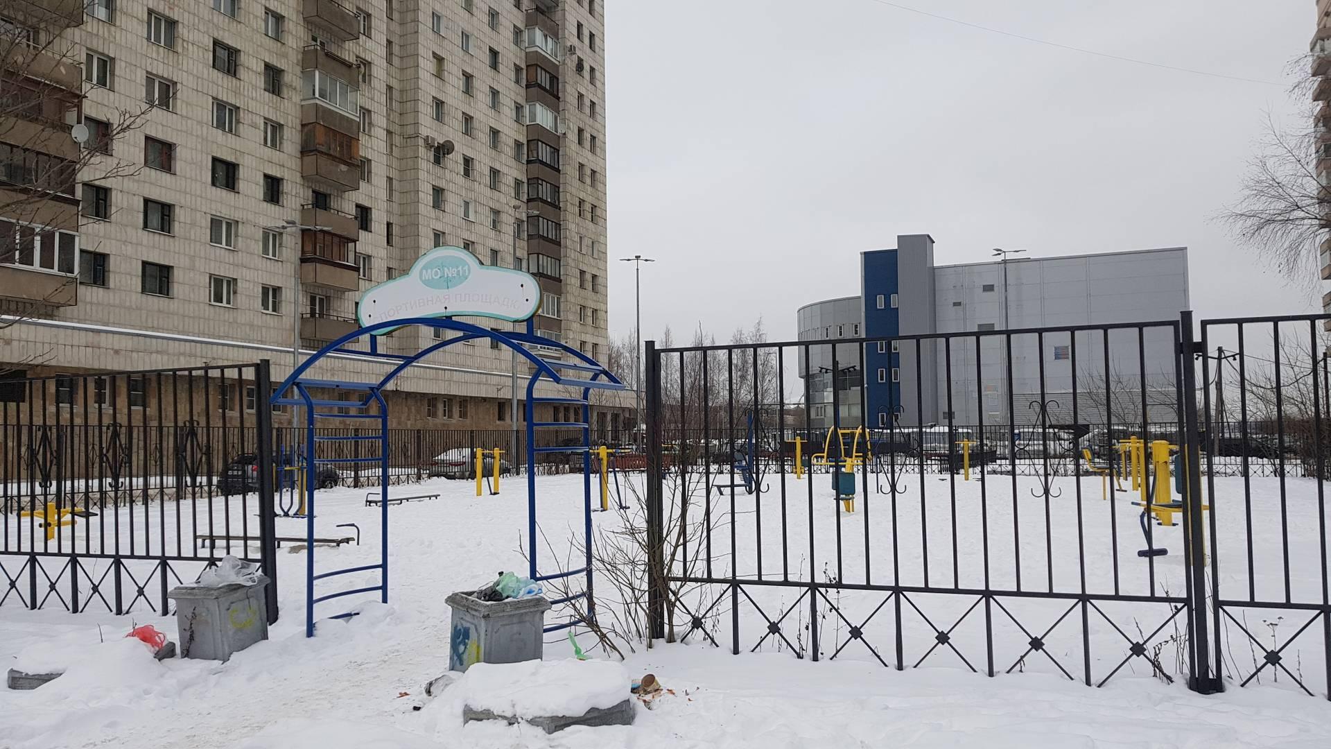 Спортивная площадка, Санкт-Петербург