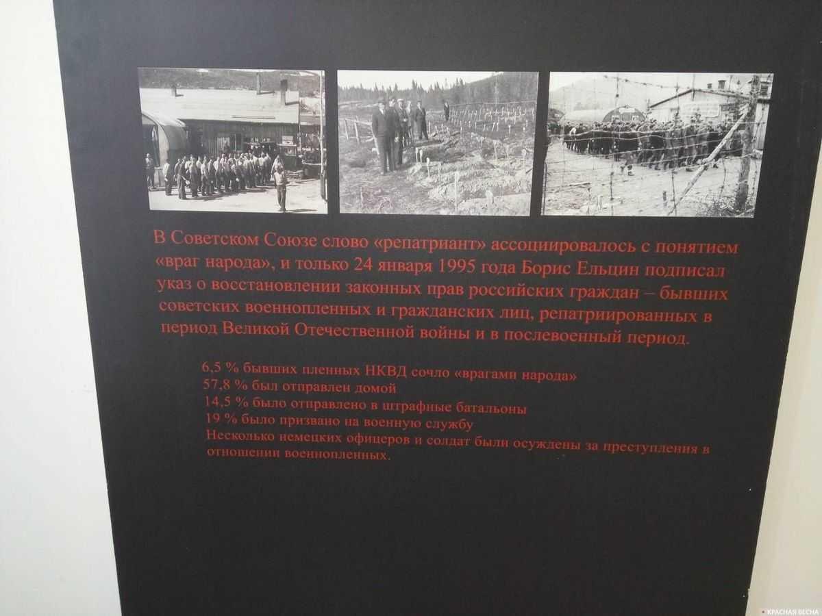 Выставка «Советские военнопленные в Норвегии». Тольятти