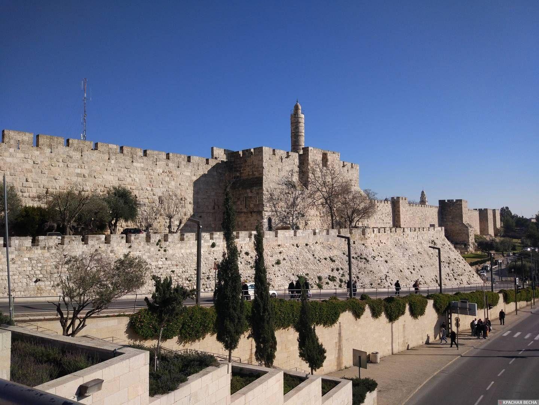 Стены старого города. Иерусалим