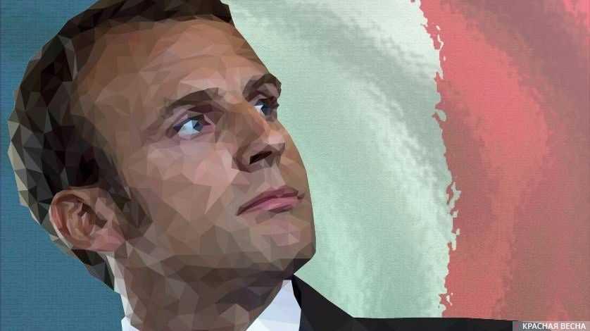 Макрон поведал, какой подарок везет Трампу ссевера Франции