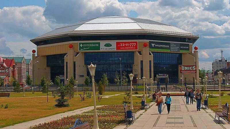 Специализированный Дворец баскетбола — Баскет-холл. Казань