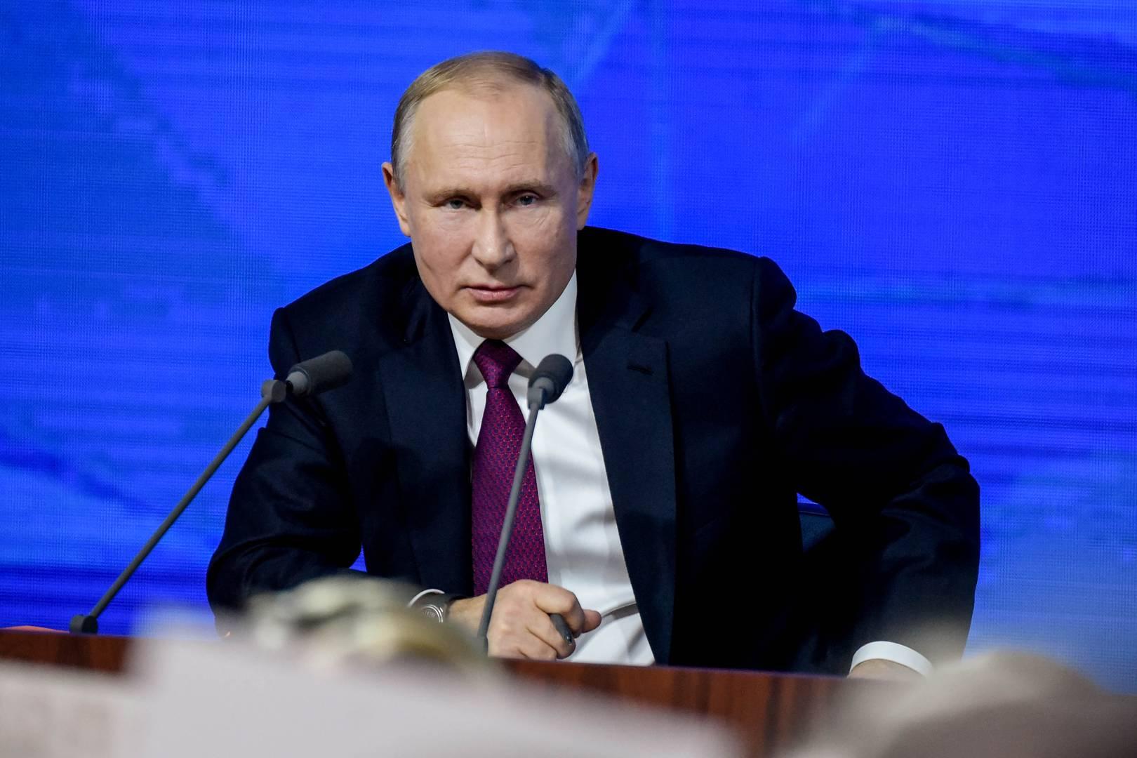 Владимир Путин на большой пресс-конференции 19 декабря 2019 г.