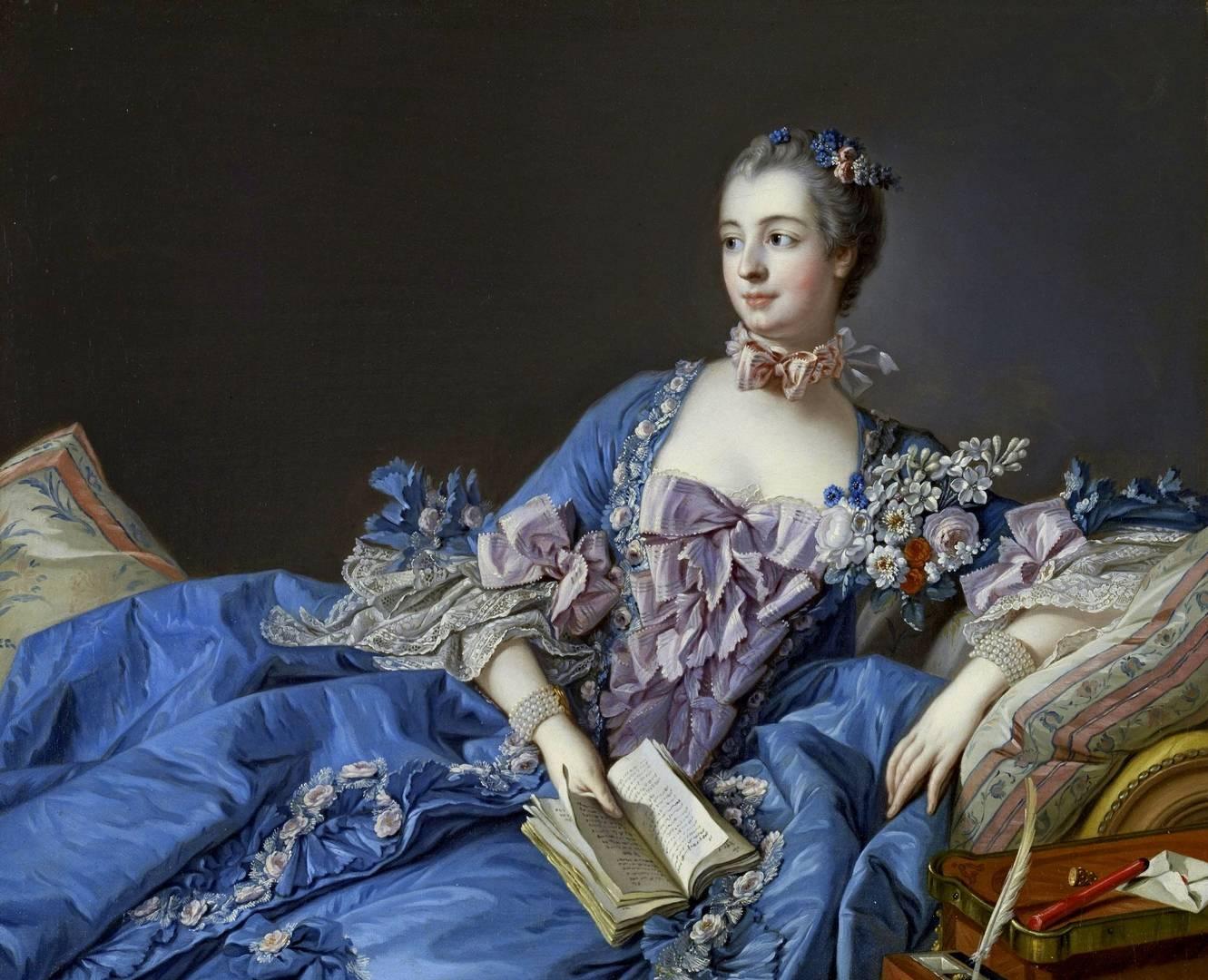 Портрет мадам де Помпадур. Франсуа Буше, 1756