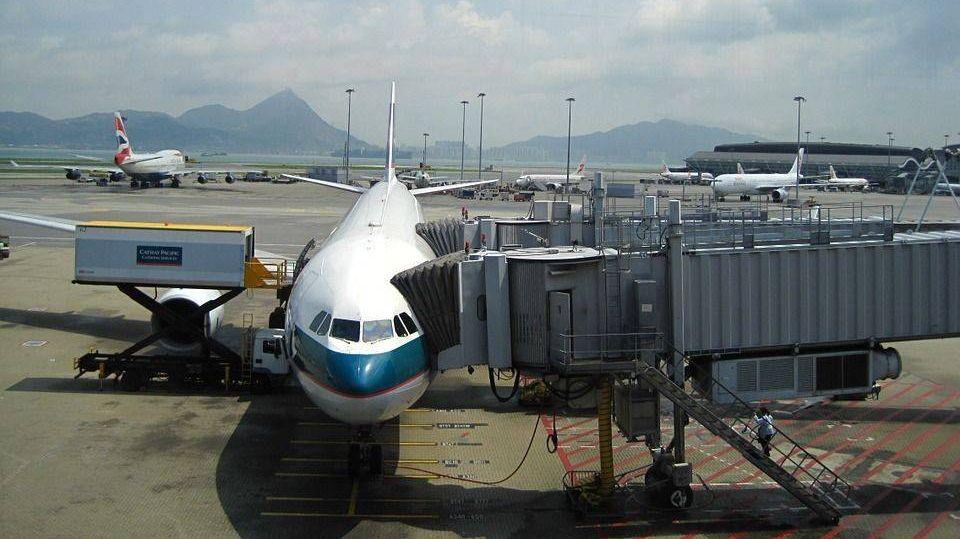 Гонконг. Аэропорт