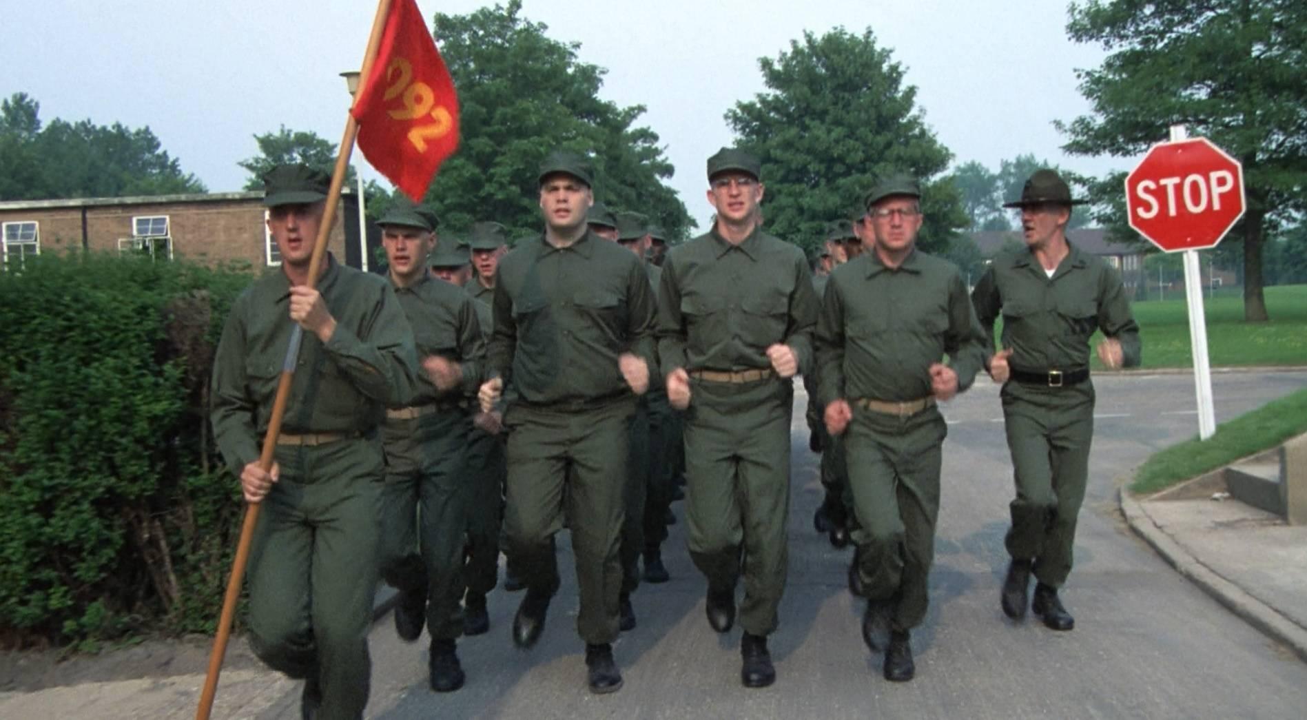 Американские военные тренируются на базе
