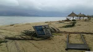 Последствия тайфуна во Вьетнаме Нячанг