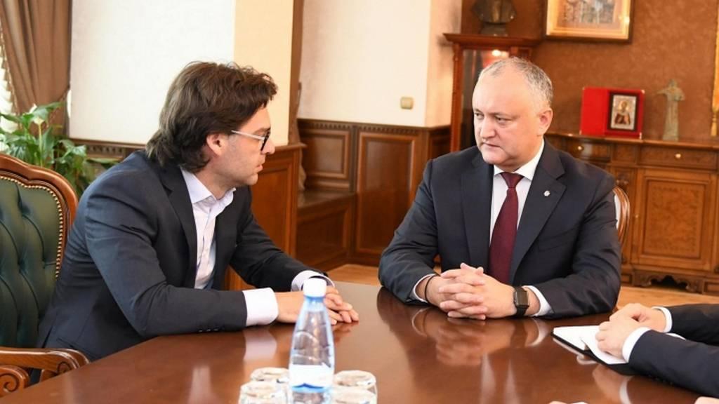 Нику Попеску и Игорь Додон