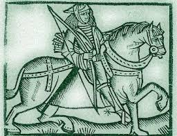 Робин Гуд Фрагмент  древнего манускрипта