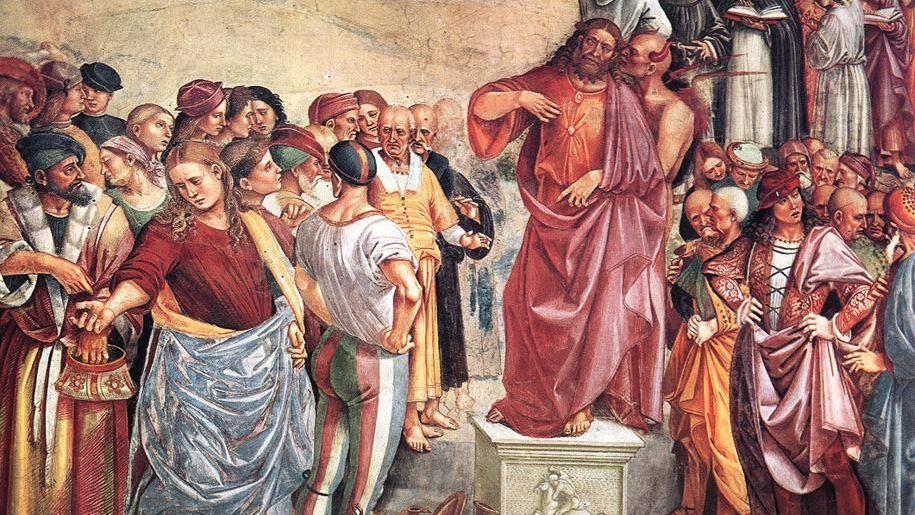 Проповедь антихриста Лука Синьорелли 1504