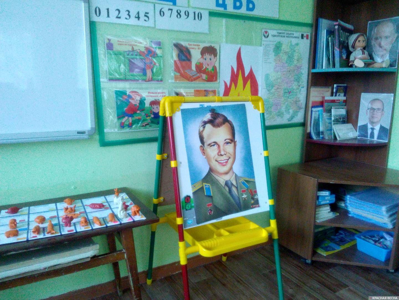 Космические корабли из пластилина в детском саду. г.Глазов