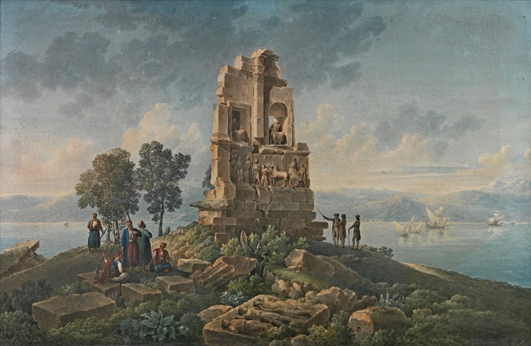 Луи Франсуа Касас. Руины. 1783