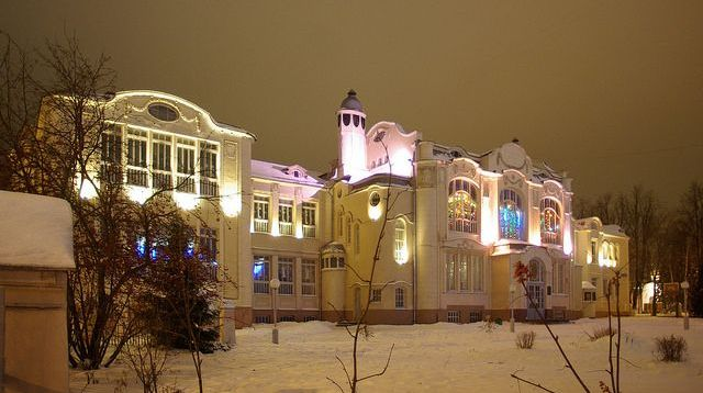 Ногинск. Здание бывшей женской гимназии