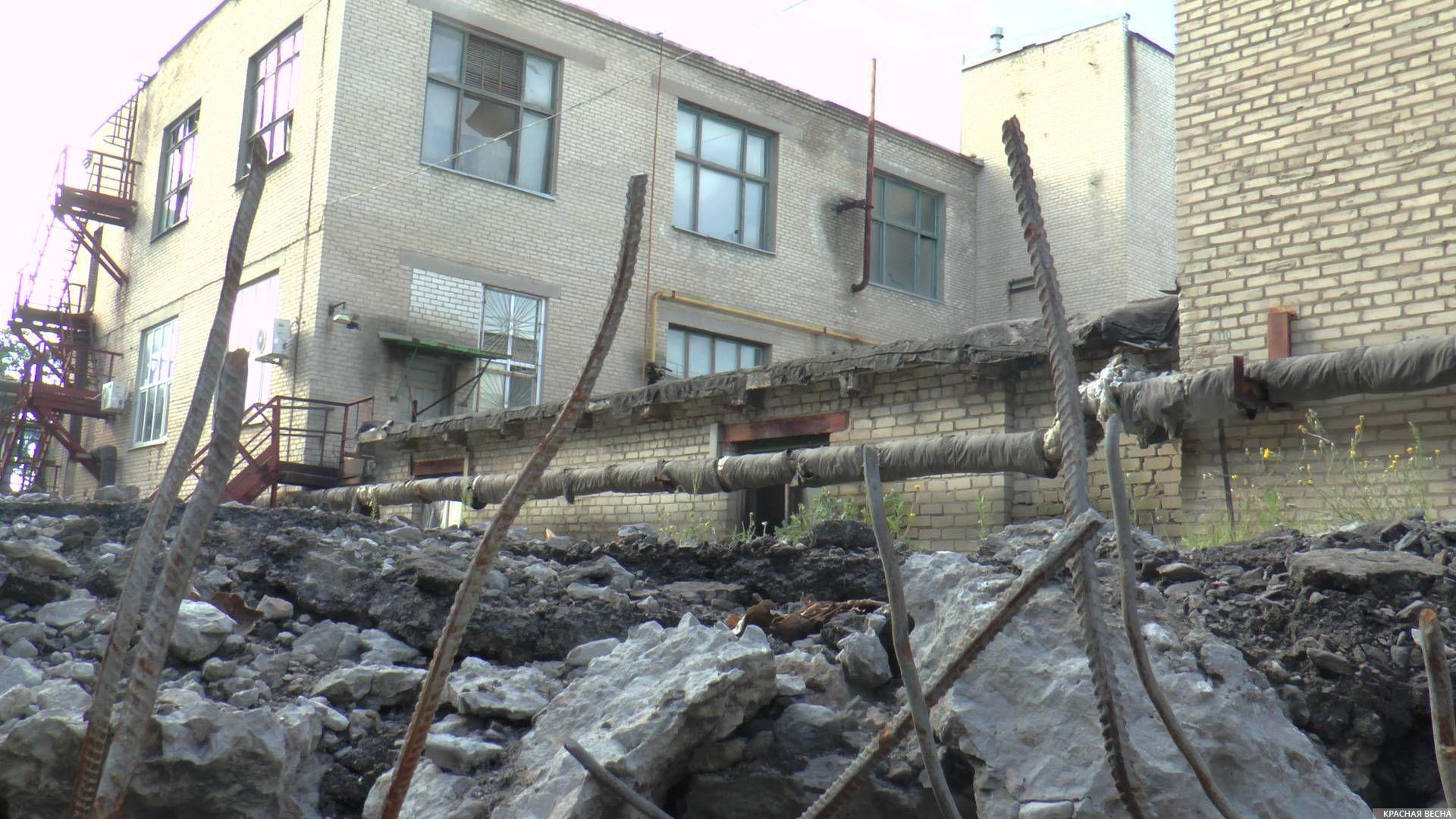 ЛНР Лисичанск артобстрел шахты Привольнянская 2014 год