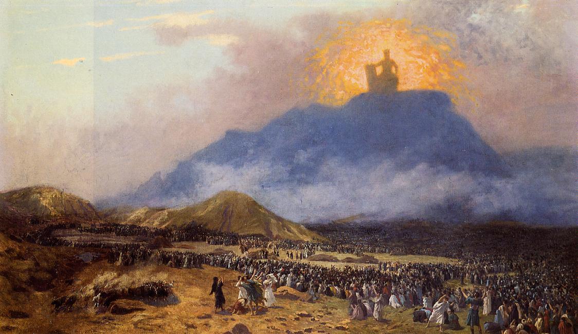 Моисей на горе Синай. 1895-1900