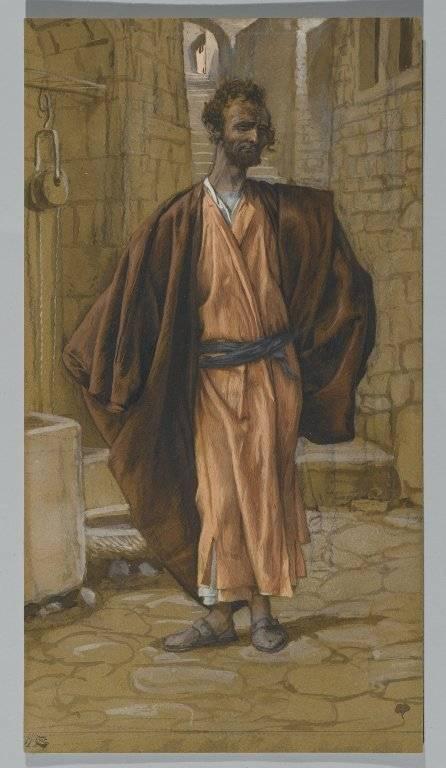 Джеймс Жак Тиссо. Иуда Искариот. 1836