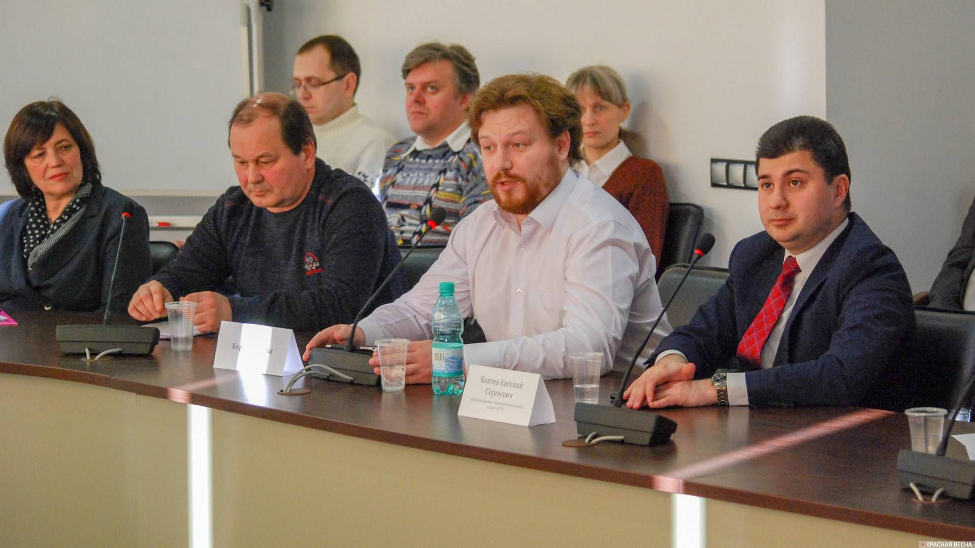 Врач-невролог из Кемерово на дискуссионном круглом столе в Новосибирске