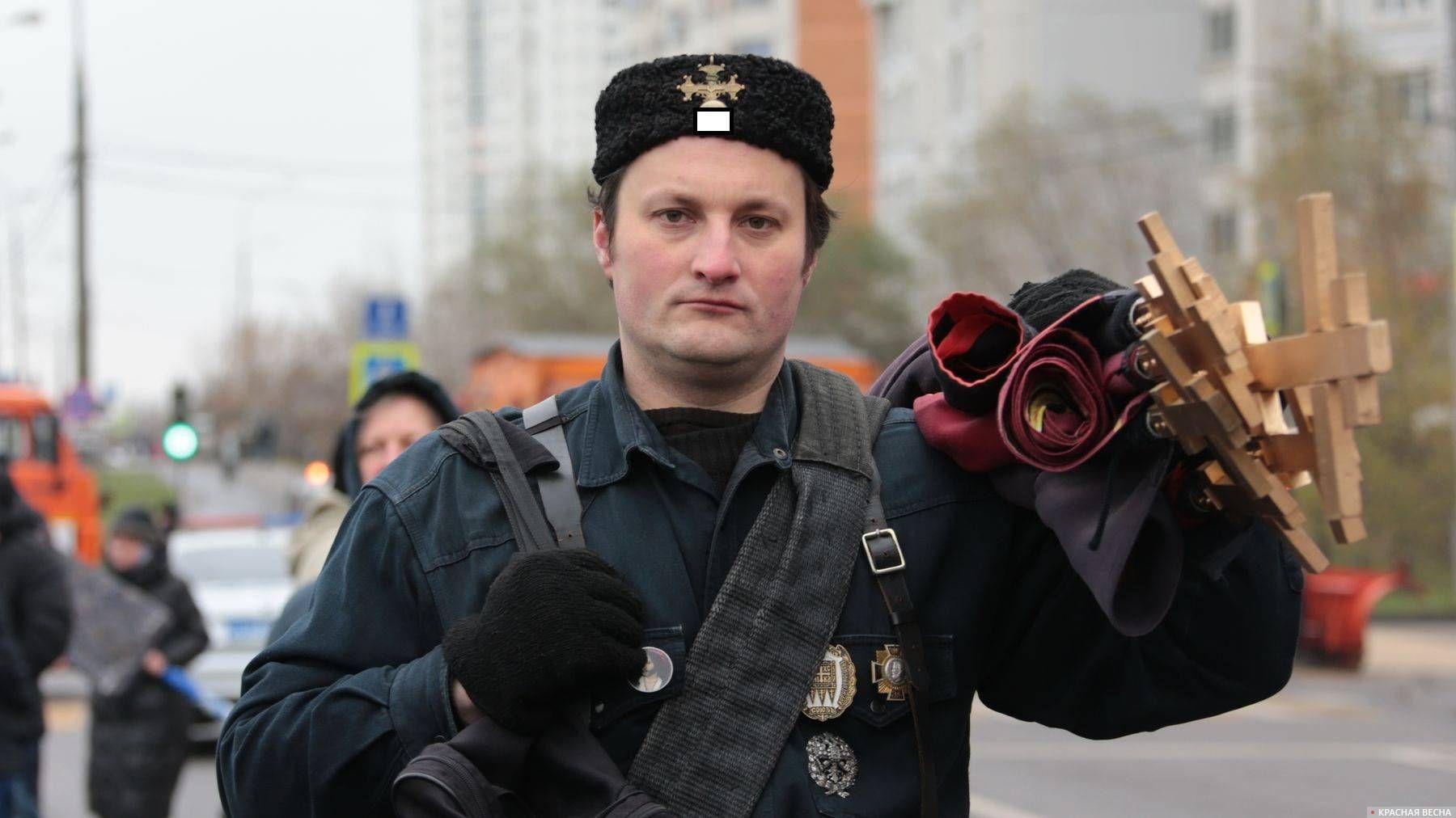 Хоругвеносец Русский марш Люблино 2019