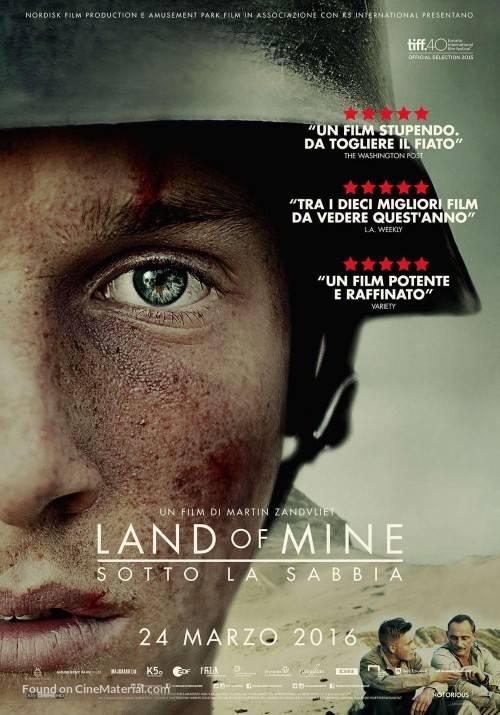 Официальный постер фильма «Under sandet»