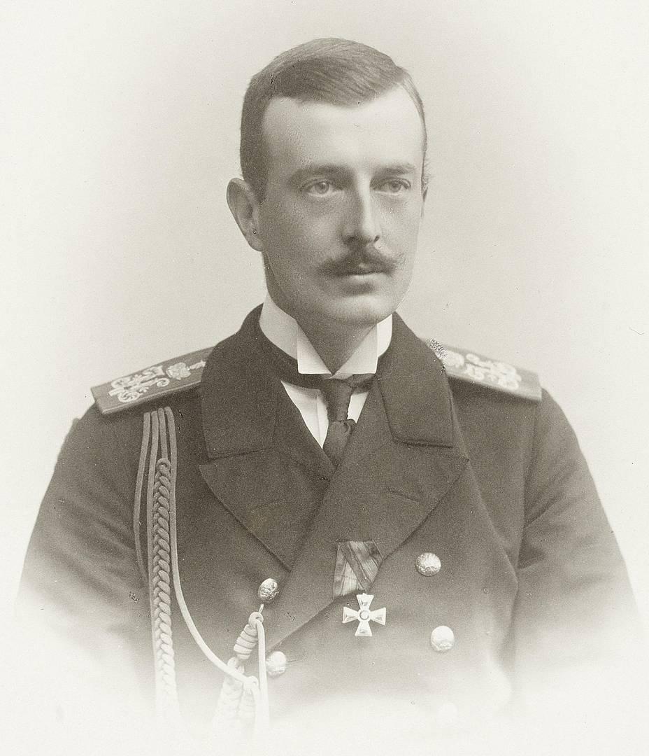 Великий князь Кирилл Владимирович. Около 1900 г.