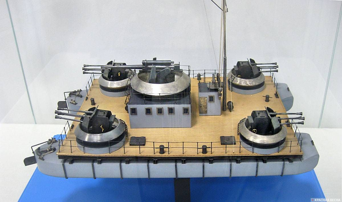 Модель германского десантного парома типа «Зибель» 1942 года (1949)