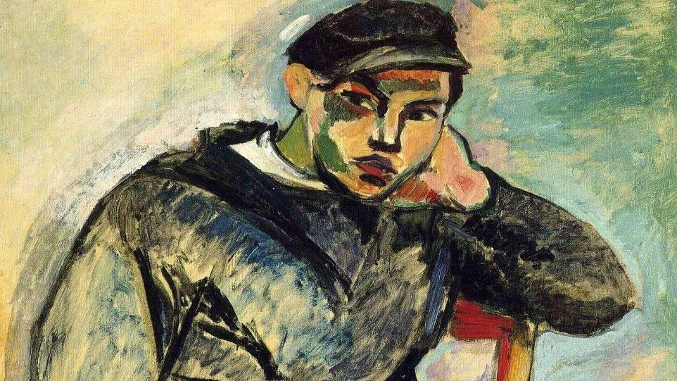 Анри Матисс. Молодой моряк (фрагмент). 1906